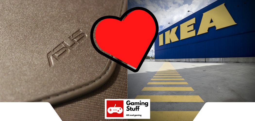 ASUS gör samabete med IKEA